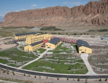 UCA campus in Naryn, Kyrgyz Republic