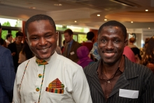 Scholars at the Trust's Welcome Event