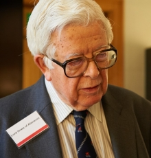 Lord Howe at the Trust's 2011 annual reception  at the Fitzwilliam Museum, Cambridge