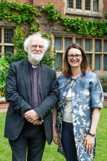 Dr. Rowan Williams & Helen Pennant