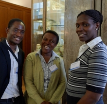 Current African scholars in Cambridge