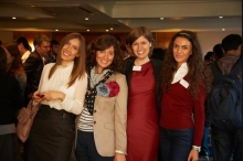 PEXIM scholars at the Cambridge Trust's welcome event.